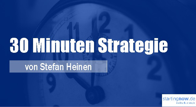 30 Minuten Trading-Strategie
